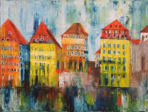 40,Regenbild,Serie,Oel,Lw,50x70,07714 Kopie, available, 2018