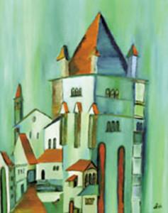 07, Noch ein Turm, Pb, 1999