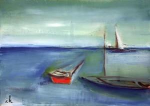 45, Kleines Segelboot, fw,3