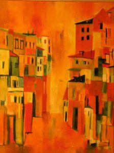 Gasse,Florenz,60x80,0872,